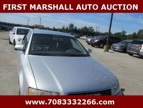 2004 Audi A4 for sale at First Marshall Auto Auction in Harvey IL