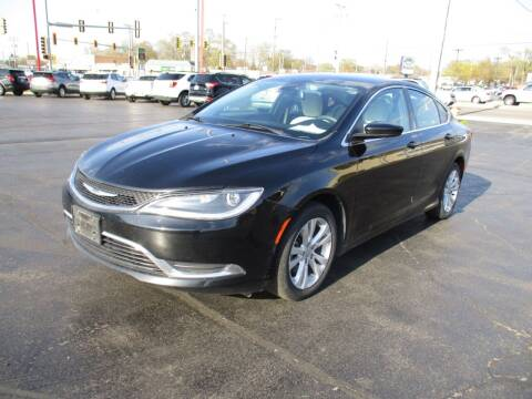 2015 Chrysler 200 for sale at Windsor Auto Sales in Loves Park IL