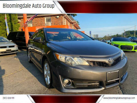 2013 Toyota Camry for sale at Bloomingdale Auto Group - The Car House in Butler NJ