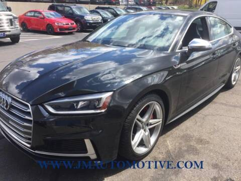 2018 Audi S5 Sportback for sale at J & M Automotive in Naugatuck CT