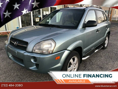 2007 Hyundai Tucson for sale at Blue Star Cars in Jamesburg NJ