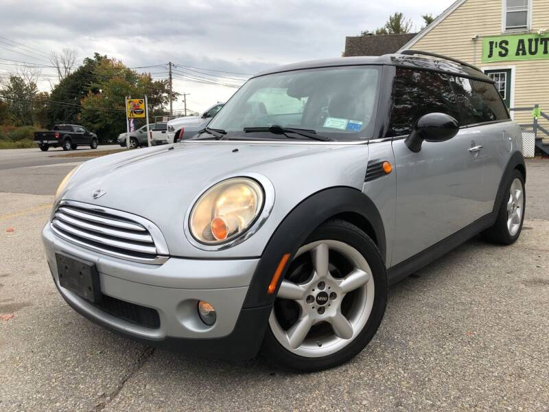 2009 MINI Cooper Clubman for sale at J's Auto Exchange in Derry NH