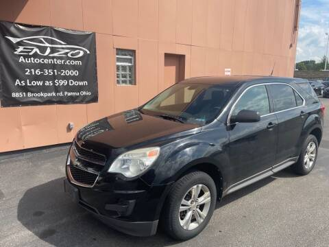 2010 Chevrolet Equinox for sale at ENZO AUTO in Parma OH