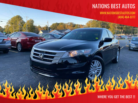 2012 Honda Crosstour for sale at Nations Best Autos in Decatur GA