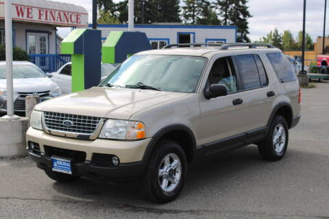 2003 Ford Explorer for sale at BAYSIDE AUTO SALES in Everett WA
