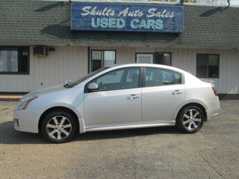 2012 Nissan Sentra for sale at SHULTS AUTO SALES INC. in Crystal Lake IL