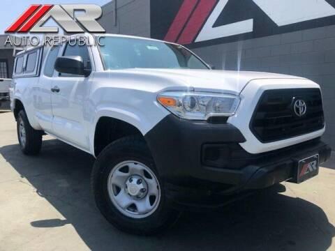 2017 Toyota Tacoma for sale at Auto Republic Fullerton in Fullerton CA