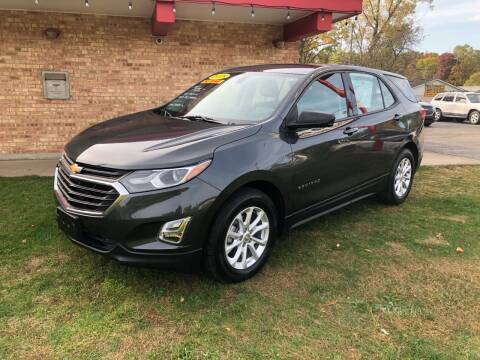 2018 Chevrolet Equinox for sale at Murdock Used Cars in Niles MI