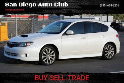 2010 Subaru Impreza for sale at San Diego Auto Club in Spring Valley CA