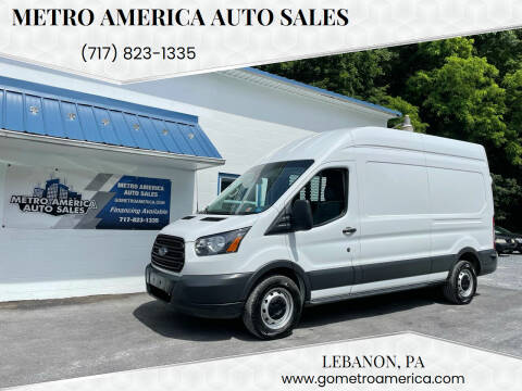 2018 Ford Transit Cargo for sale at METRO AMERICA AUTO SALES of Lebanon in Lebanon PA