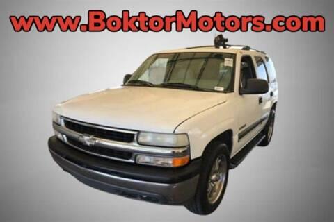 2000 Chevrolet Tahoe for sale at Boktor Motors in North Hollywood CA