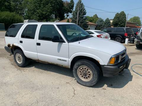1997 Chevrolet Blazer for sale at GREENFIELD AUTO SALES in Greenfield IA