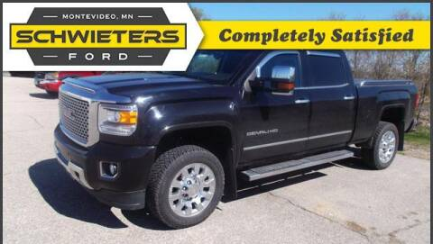 2016 GMC Sierra 2500HD for sale at Schwieters Ford of Montevideo in Montevideo MN