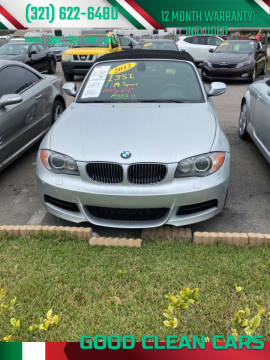 2011 BMW 1 Series for sale at Good Clean Cars in Melbourne FL