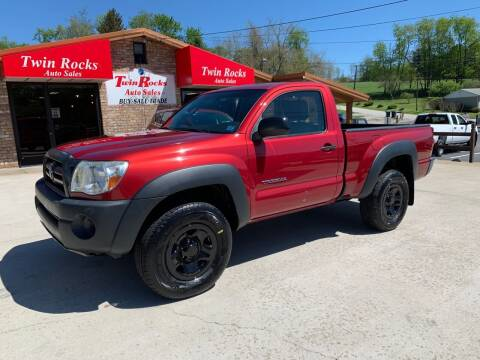 2007 Toyota Tacoma for sale at Twin Rocks Auto Sales LLC in Uniontown PA