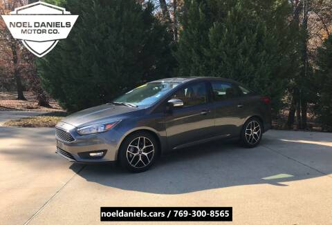 2017 Ford Focus for sale at Noel Daniels Motor Company in Brandon MS
