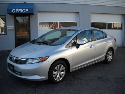 2012 Honda Civic for sale at Best Wheels Imports in Johnston RI