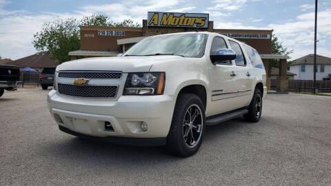 2012 Chevrolet Suburban for sale at A MOTORS SALES AND FINANCE - 10110 West Loop 1604 N in San Antonio TX