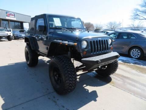 2008 Jeep Wrangler for sale at KIAN MOTORS INC in Plano TX