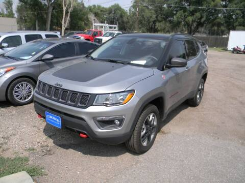 2018 Jeep Compass for sale at Cimino Auto Sales in Fountain CO