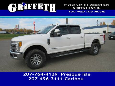 2017 Ford F-250 Super Duty for sale at Griffeth Mitsubishi - Pre-owned in Caribou ME