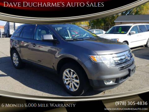 2010 Ford Edge for sale at Dave Ducharme's Auto Sales in Lowell MA
