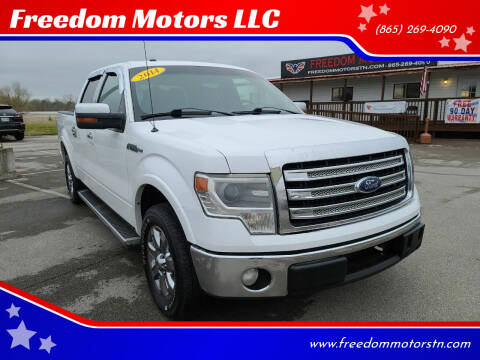 2014 Ford F-150 for sale at Freedom Motors LLC in Knoxville TN