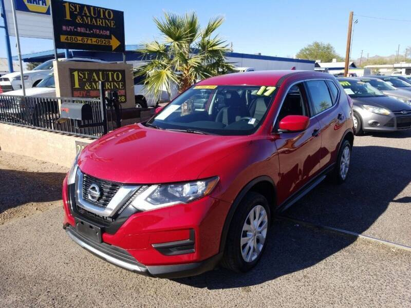 2017 Nissan Rogue for sale at 1ST AUTO & MARINE in Apache Junction AZ