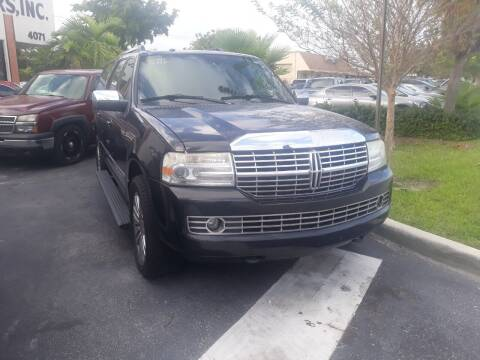 2011 Lincoln Navigator L for sale at LAND & SEA BROKERS INC in Deerfield FL