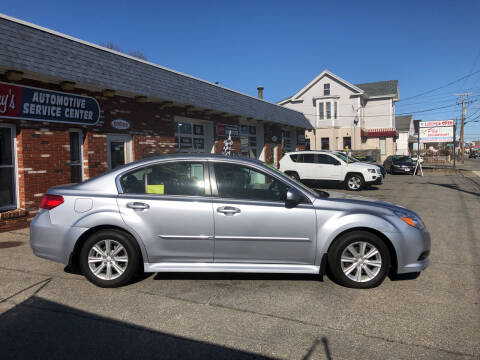 2012 Subaru Legacy for sale at RAYS AUTOMOTIVE SERVICE CENTER INC in Lowell MA