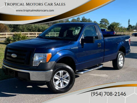 2009 Ford F-150 for sale at Tropical Motors Car Sales in Deerfield Beach FL
