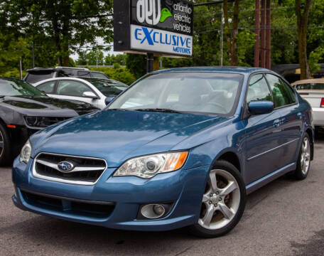 2009 Subaru Legacy for sale at EXCLUSIVE MOTORS in Virginia Beach VA