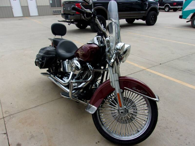 2008 Harley-Davidson Heritage Soft-tail for sale at World Wide Automotive in Sioux Falls SD