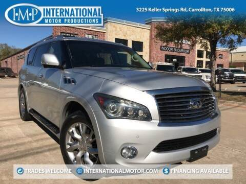 2011 Infiniti QX56 for sale at International Motor Productions in Carrollton TX
