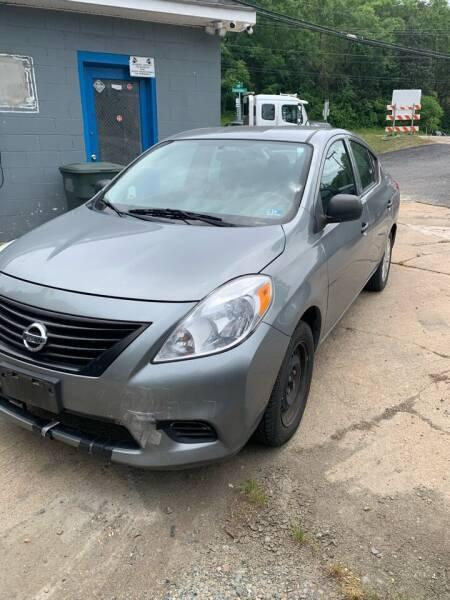 2014 Nissan Versa for sale at Delong Motors in Fredericksburg VA