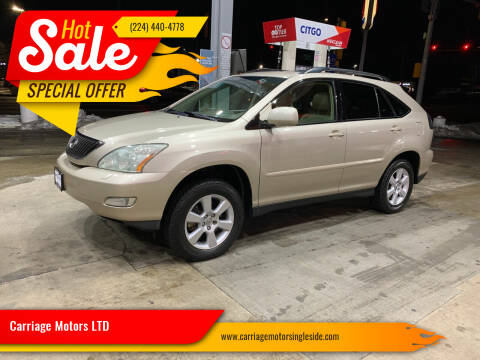 2004 Lexus RX 330 for sale at Carriage Motors LTD in Ingleside IL