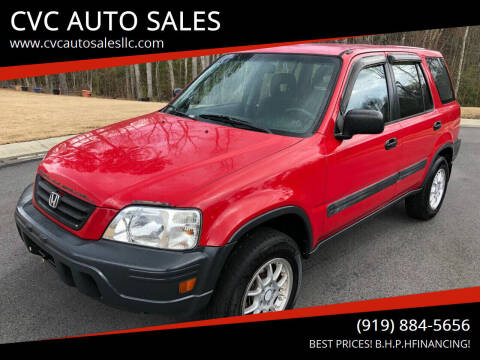 2001 Honda CR-V for sale at CVC AUTO SALES in Durham NC