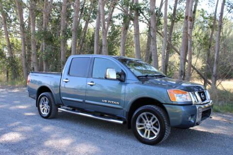 2012 Nissan Titan for sale at Northwest Premier Auto Sales in West Richland WA