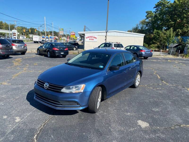 2015 Volkswagen Jetta for sale at M & J Auto Sales in Attleboro MA