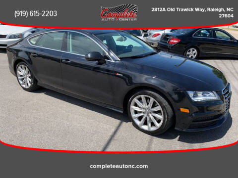 2012 Audi A7 for sale at Complete Auto Center , Inc in Raleigh NC