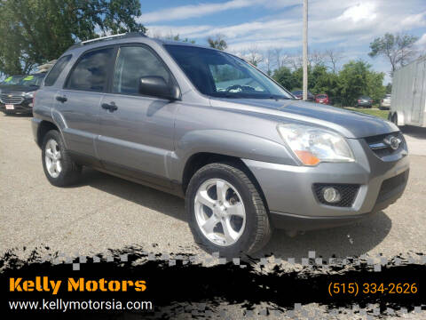 2009 Kia Sportage for sale at Kelly Motors in Johnston IA