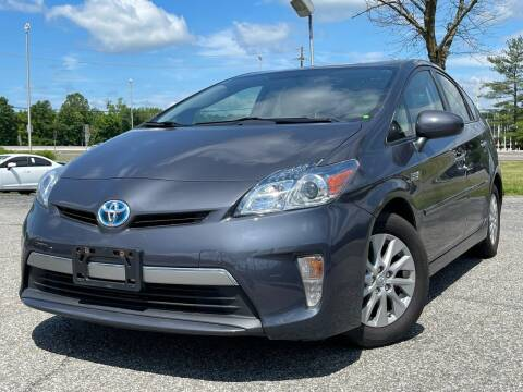 2013 Toyota Prius Plug-in Hybrid for sale at MAGIC AUTO SALES in Little Ferry NJ