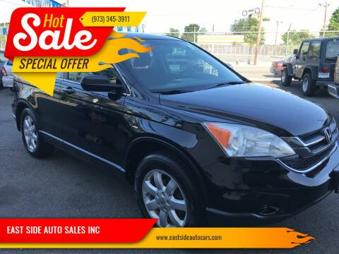 2011 Honda CR-V for sale at EAST SIDE AUTO SALES INC in Paterson NJ
