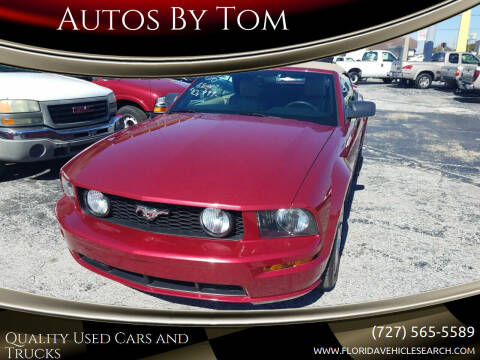 2006 Ford Mustang for sale at Autos by Tom in Largo FL