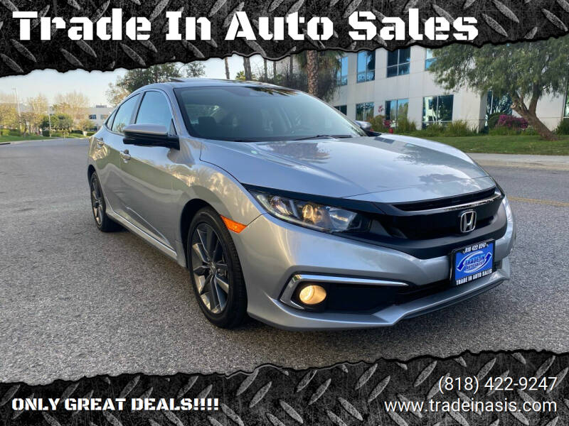 2020 Honda Civic for sale at Trade In Auto Sales in Van Nuys CA