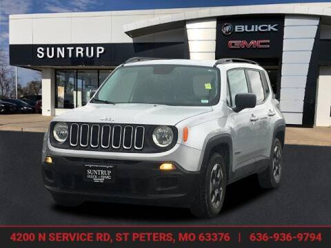 2017 Jeep Renegade for sale at SUNTRUP BUICK GMC in Saint Peters MO
