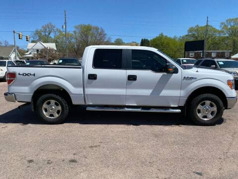 2014 Ford F-150 for sale at RIVERSIDE AUTO SALES in Sioux City IA