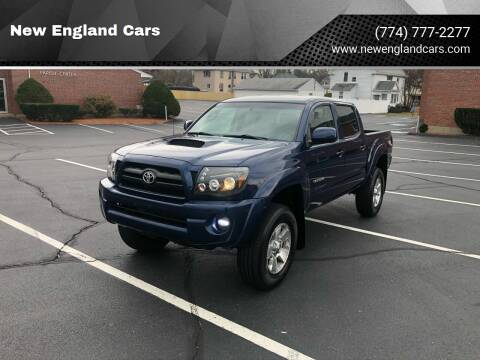 2008 Toyota Tacoma for sale at New England Cars in Attleboro MA