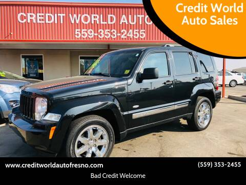 2012 Jeep Liberty for sale at Credit World Auto Sales in Fresno CA