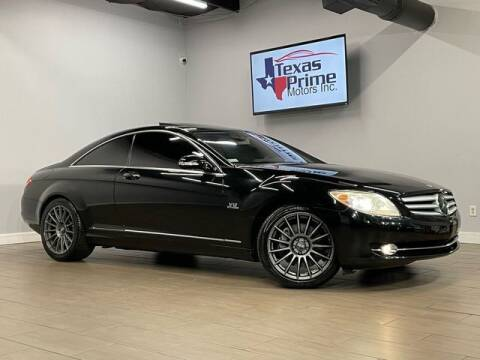 2007 Mercedes-Benz CL-Class for sale at Texas Prime Motors in Houston TX